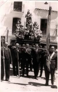 Llevada de los Santos Mártires, en Abla