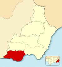 Mapa de Poniente
